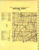 Map Image 014, Muscatine County 1971